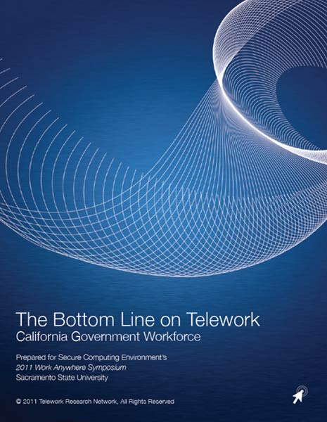 The Bottom Line on Telework-California Government Workforce