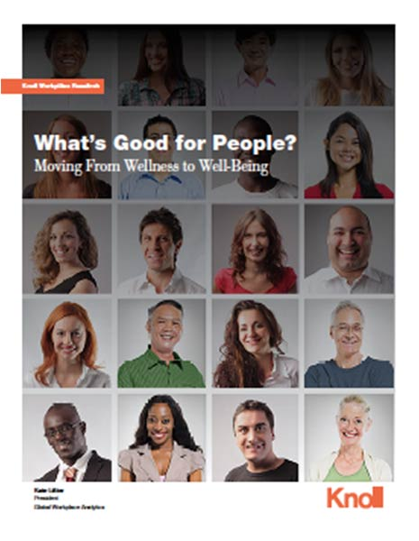 What's Good For People—Workplace Well-Being